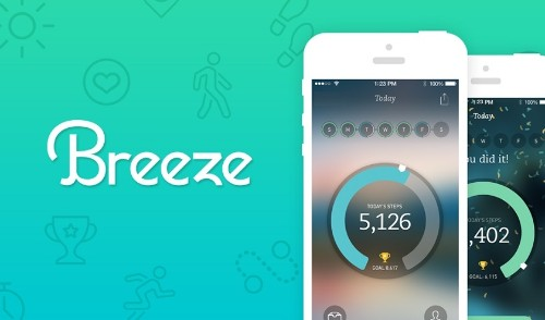 Runkeeper's Breeze App Tracks Your Every Step