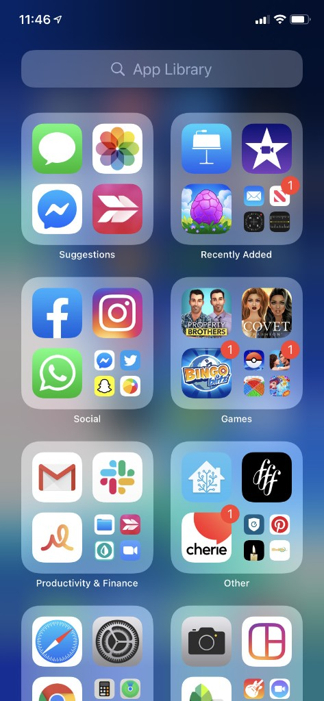 How to Enable App Notification Badges in the App Library