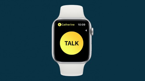 How to Use Your Apple Watch as a Walkie-Talkie