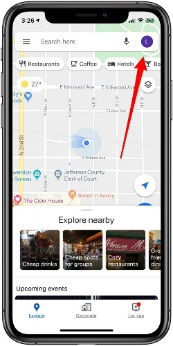 How to Hide Your Location History in Google Maps Using Incognito Mode