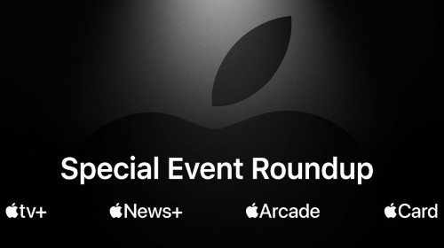 Everything Apple Announced at Today's Event: Video Streaming, News & Gaming Services, an Apple Credit Card, More