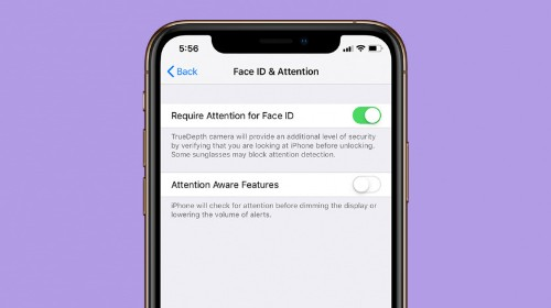 How to Disable Your iPhone's Attention Aware Features