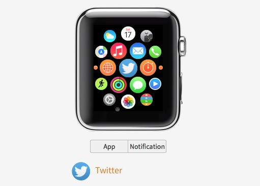 Website Gives Interactive Preview of Apple Watch Apps