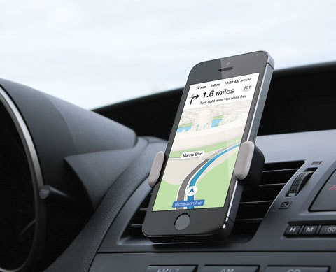 Keep Your Phone Steady As She Goes While Driving With Airframe Vent Clip