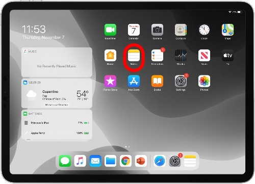 How to Swipe to Text on the iPad with the Floating Keyboard