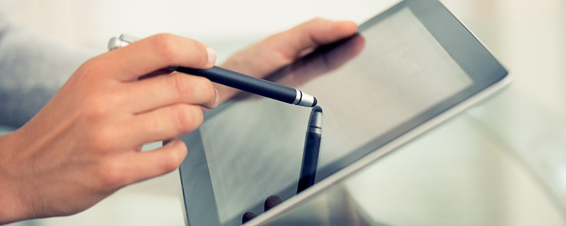 Apple Patents Stylus That Recognizes Virtual Textures