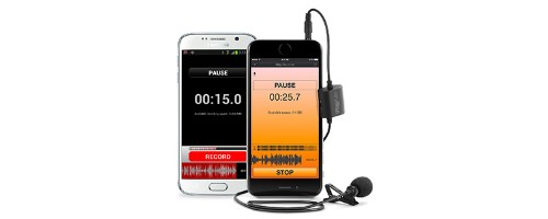 iRig iMic Lav: External Mic for iPhone from IK Multimedia