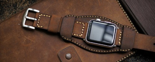 4 Beautiful Leather Apple Watch Bands