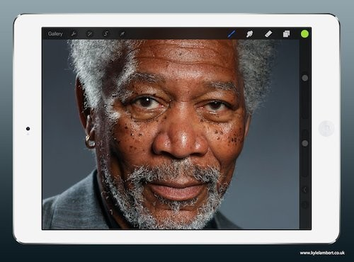 Skilled Artist Plus Procreate iPad App Equal Best Portrait Ever