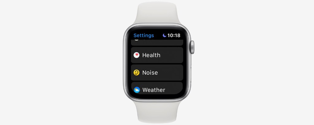 How to Use the Apple Watch Noise App