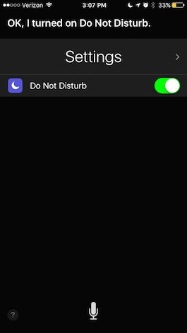 How to Use Siri to Turn Do Not Disturb On or Off