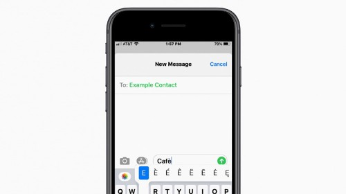 How to Type É & Other Accent Marks on the iPhone Keyboard