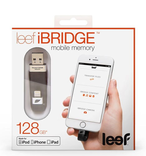 Leef iBRIDGE Mobile Memory Adds Storage But at a Price