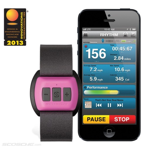 Find Your RHYTHM with Scosche Heart Rate Monitor