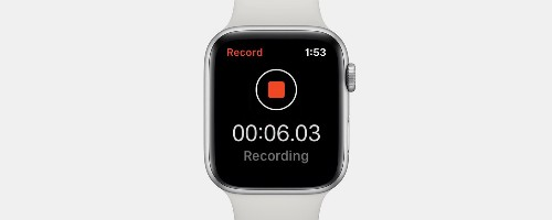 How to Record a Voice Memo on the Apple Watch