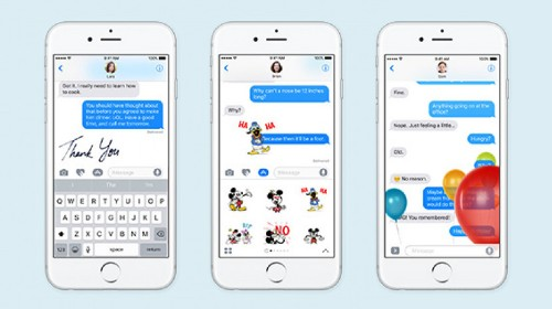 Your Guide to the Messages App in iOS 10