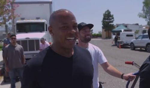 Apple's Dr. Dre Accepts ALS Ice Bucket Challenge