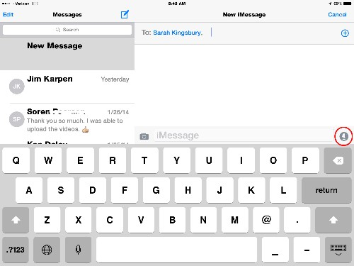 Tip of the Day: Send Audio Messages in iOS 8