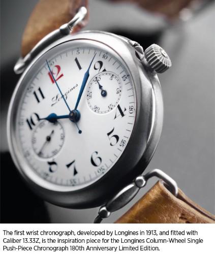 Timepieces  - Magazine cover