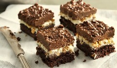 Discover peanut butter brownies