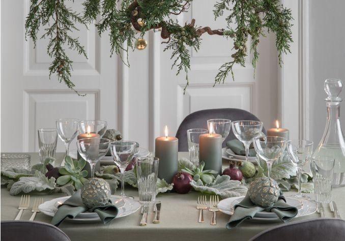 Nos plus belles inspirations pour réussir sa déco de table de Noël - Elle