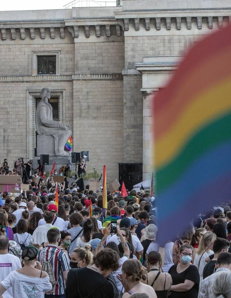 Après l'arrestation d'une militante LGBT+, le peuple polonais descend dans la rue - Elle