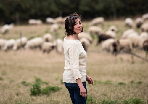 Stéphanie Maubé, de l'audiovisuel à éleveuse - Elle