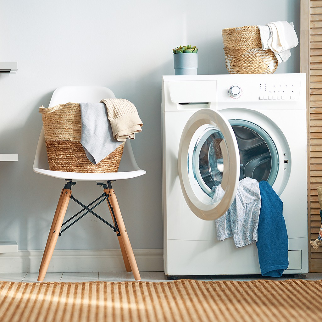 Comment nettoyer une machine à laver - Elle Décoration