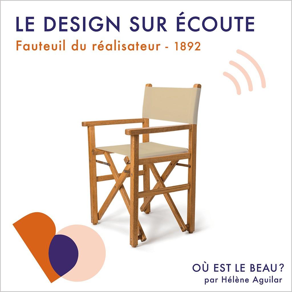 « Où est le beau ? » x ELLE Déco met à l'honneur le fauteuil du réalisateur - Elle Décoration