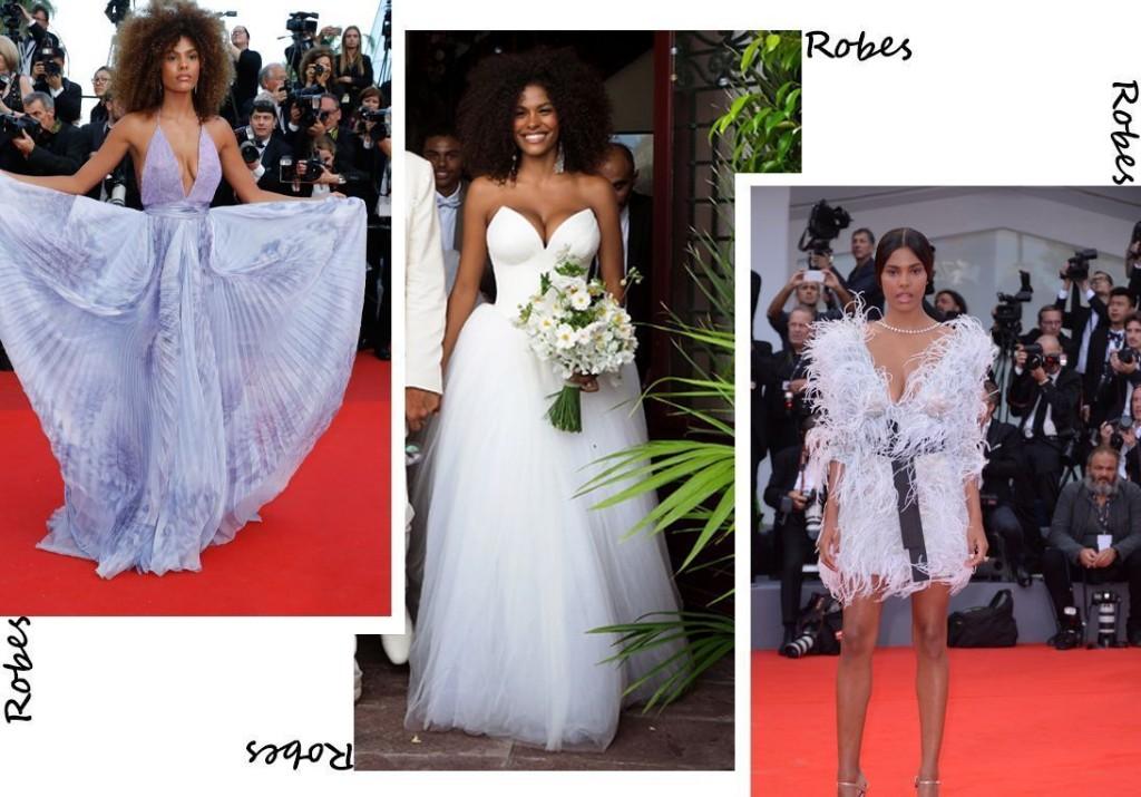 Les plus belles robes de Tina Kunakey - Elle