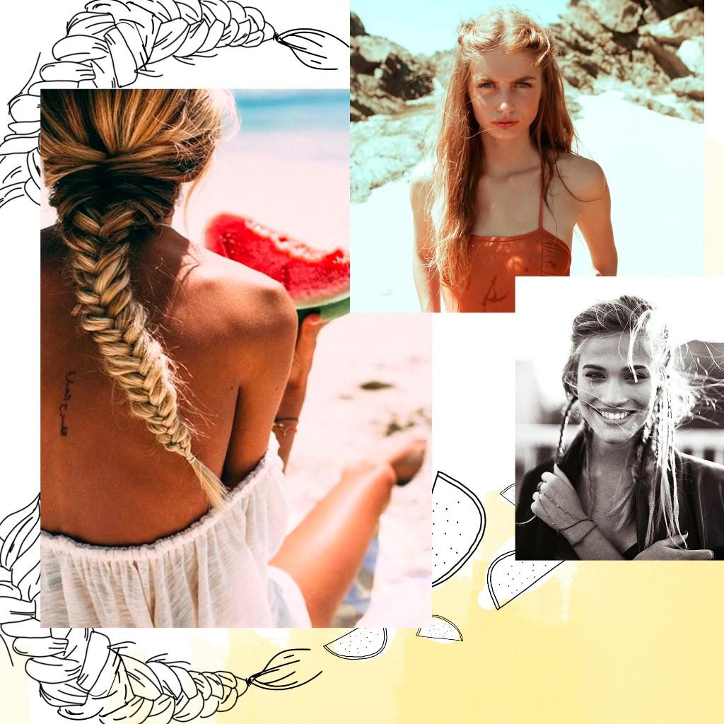 Coiffure de plage : les plus jolies coiffures de plage - Elle