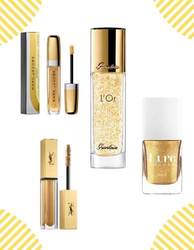Les produits de maquillage or que l'on adore - Elle