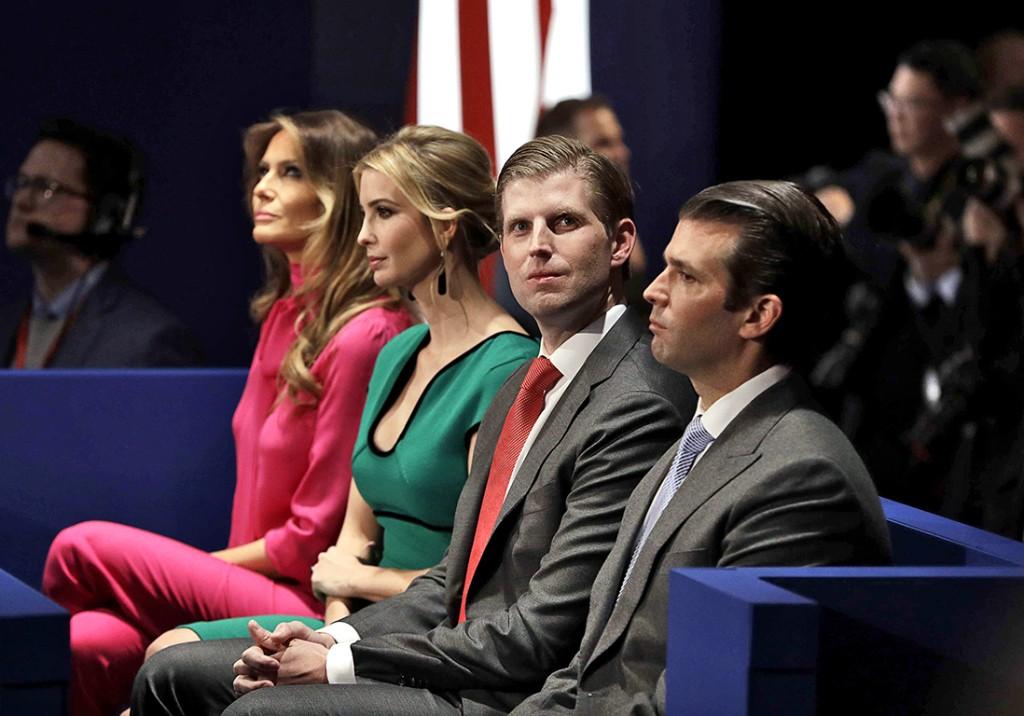 Quel futur pour le clan Trump ? - Elle