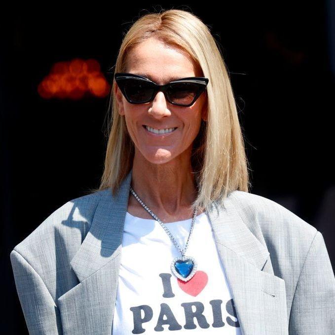 Céline Dion : sa combinaison tie and dye parfaite pour l'été - Elle