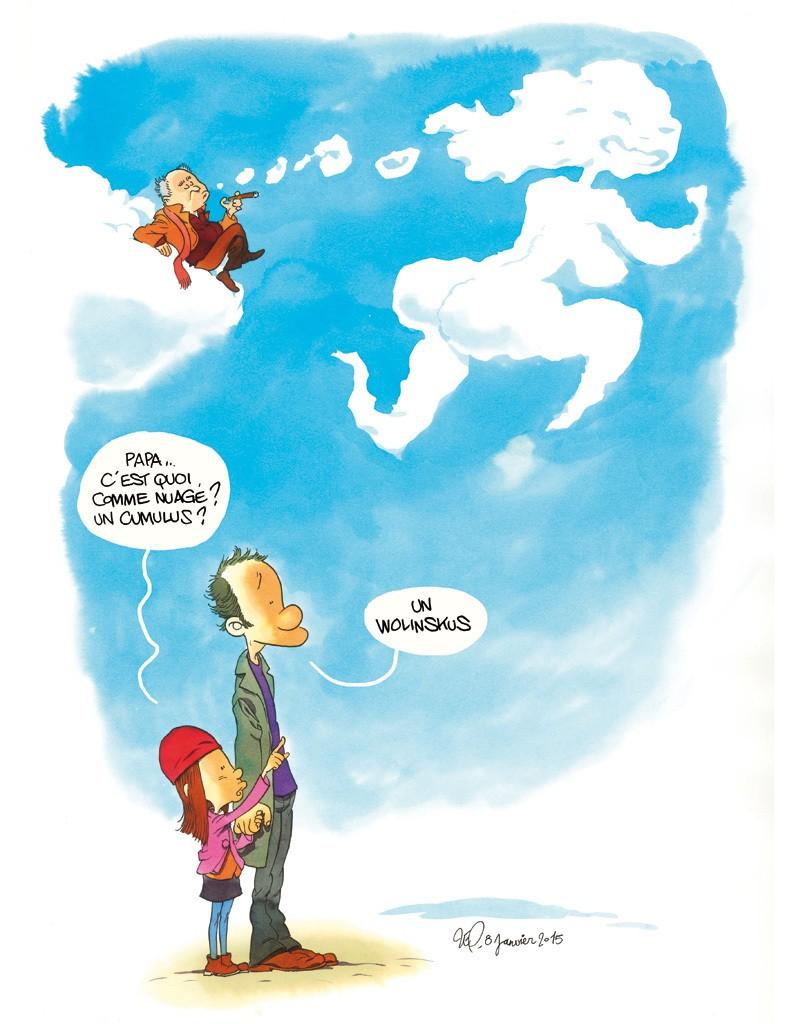 Papa, t'es là ? par Elsa Wolinski - Elle
