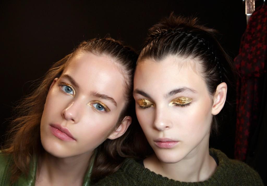 Maquillage doré : 25 façons de porter le maquillage doré - Elle