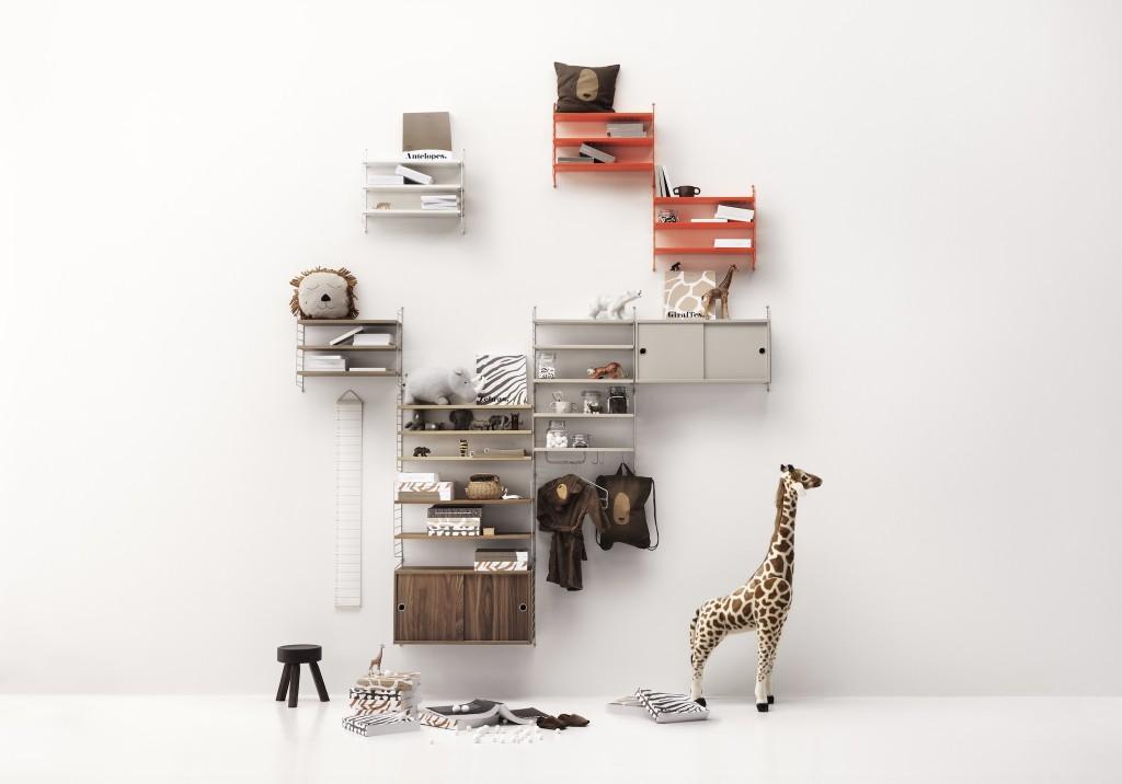 Design Iconique : L'étagère String de Nisse Strinning - Elle Décoration