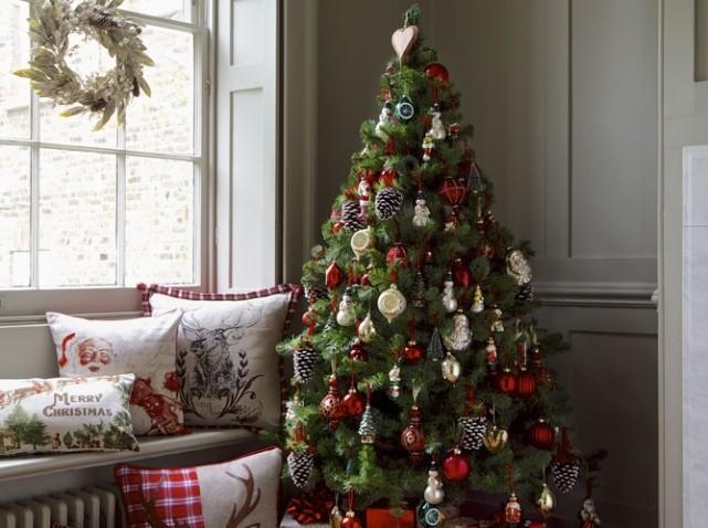 5 idées pour un sapin de Noël original - Elle