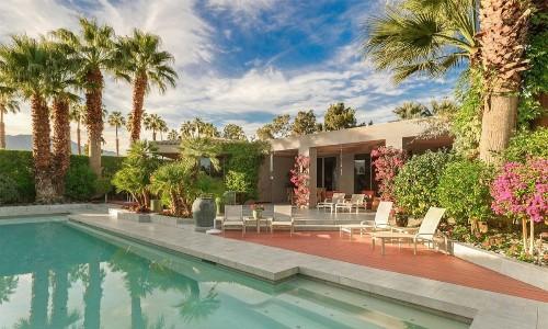 Real estate veteran Sheldon Good puts stylish Rancho Mirage estate on the market - Los Angeles Times