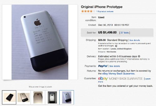 Wife forces man to sell purported Apple iPhone prototype for $1,499 - Los Angeles Times