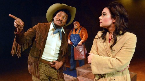 New in L.A. theater: 'Bronco Billy' rides again; Billie Holiday sings sad truths