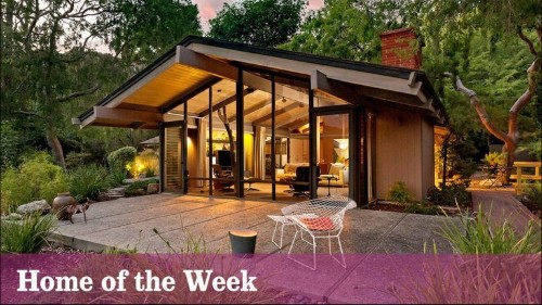 Pasadena post-and-beam boasts architectural pedigree and lush scenery - Los Angeles Times