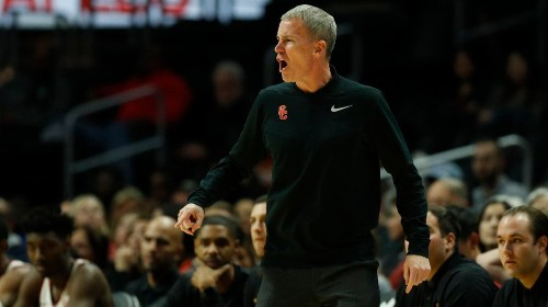 USC basketball coach Andy Enfield is looking for the right numbers in 2019-20 season