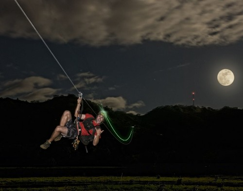 Hawaii: Kauai zip line gives you an after-dark adrenaline rush