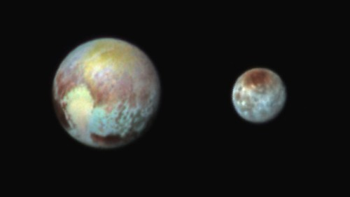 Two for the price of one: The unique binary system of Pluto and Charon - Los Angeles Times