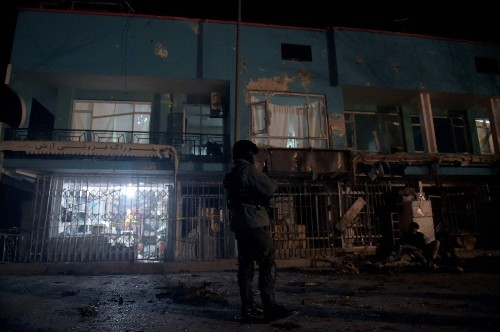 Suicide blast targets Afghanistan media group, killing 7 - Los Angeles Times