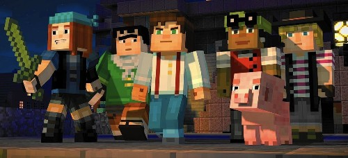 'Minecraft: Story Mode's' adventures have familiar plots but characters worth rooting for