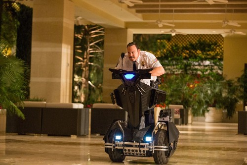 'Paul Blart: Mall Cop 2' might work if it was actually funny - Los Angeles Times