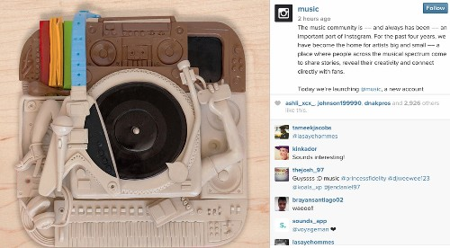 Instagram launches music channel, @music - Los Angeles Times
