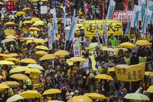 Britain has enduring responsibility for democracy in Hong Kong, report says